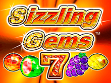 Игровой автомат Sizzling Gems в казино Вулкан Платинум